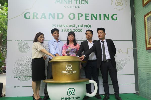 Minh Tiến Coffee - Hành trình quảng bá nâng tầm cà phê Việt