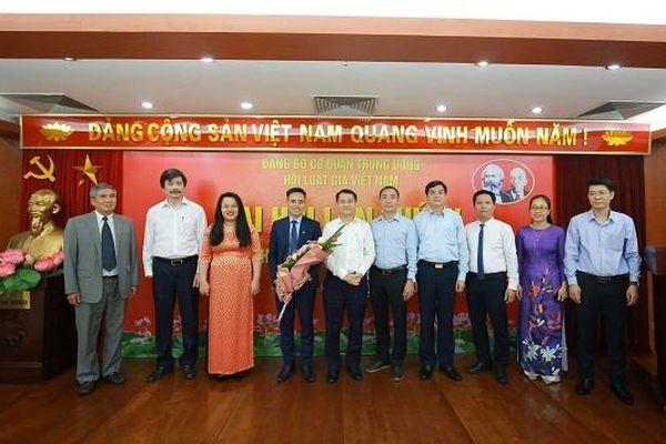 Ra mắt Ban chấp hành Đảng bộ cơ quan Trung ương hội Luật gia Việt Nam khóa IV