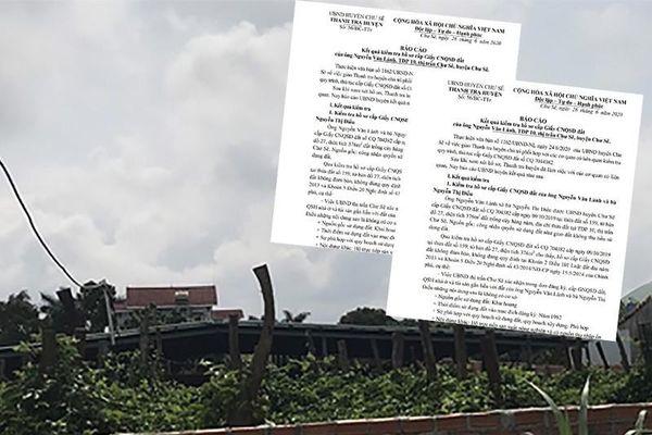 Một nguyên bí thư huyện được cấp đất trái luật
