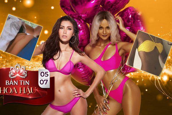 Top 10 Miss Supranational Minh Tú vòng 2 ngấn mỡ 'chấn động', Top 5 Miss Universe H'Hen Niê cơ bụng săn chắc