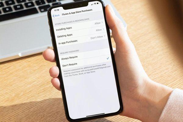 Cách chặn xóa ứng dụng trên iPhone và iPad