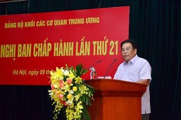 Chuẩn bị các nội dung cho Đại hội đại biểu Đảng bộ Khối các cơ quan Trung ương