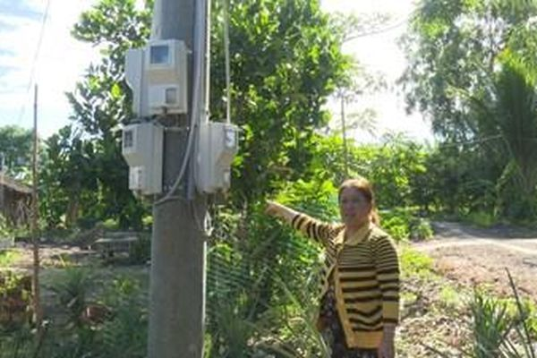 Công trình điện thi công xong hai năm vẫn chưa có điện sử dụng