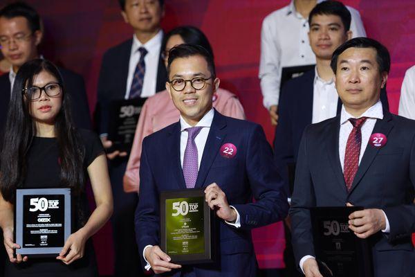 VPBank liên tiếp lọt 'top 50' công ty kinh doanh hiệu quả nhất và công ty niêm yết tốt nhất Việt Nam