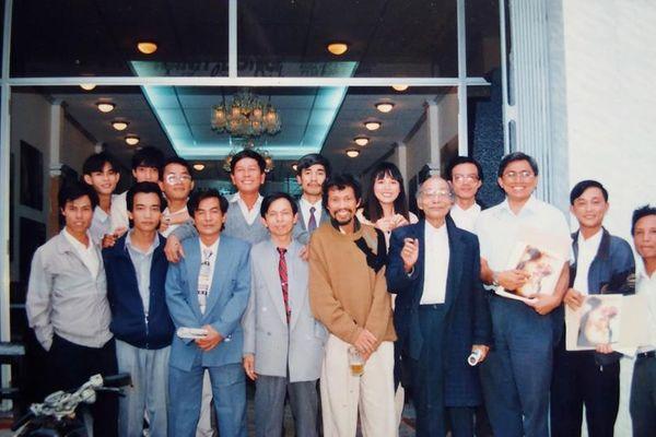 Nhà báo Nguyễn Hữu Hương Sống hết lòng, đắm đuối với nghề