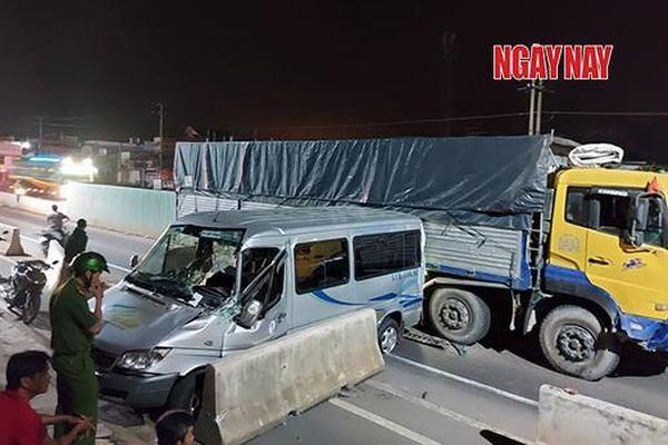 Lại xảy ra tai nạn liên tục tại công trình Nút giao thông Dầu Giây