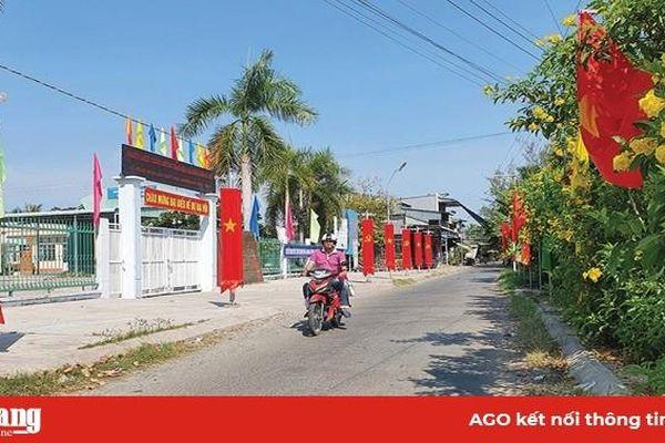 Những công trình chào mừng Đại hội Đảng các cấp ở huyện Châu Thành