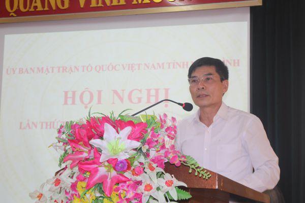 MTTQ tỉnh Ninh Bình quyết liệt thực hiện 9 nhiệm vụ trọng tâm