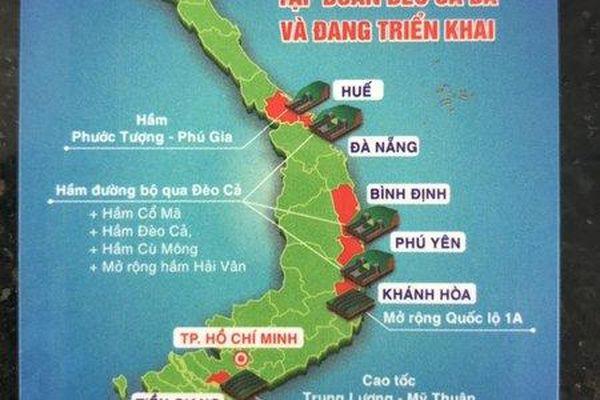 Thẻ thu phí cao tốc không thể hiện rõ hai quần đảo Trường Sa, Hoàng Sa