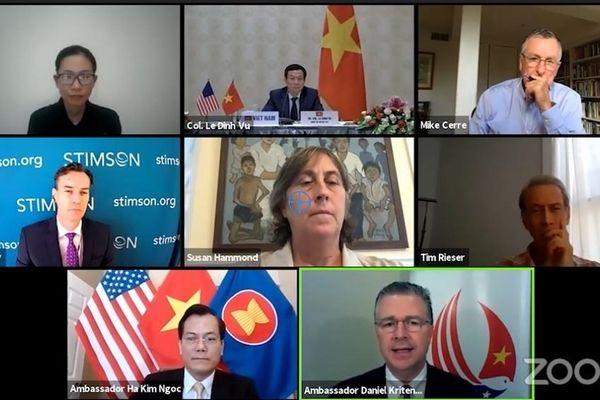 Đại sứ Hà Kim Ngọc tham dự Tọa đàm trực tuyến 25 năm Việt Nam-Hoa Kỳ khắc phục hậu quả chiến tranh