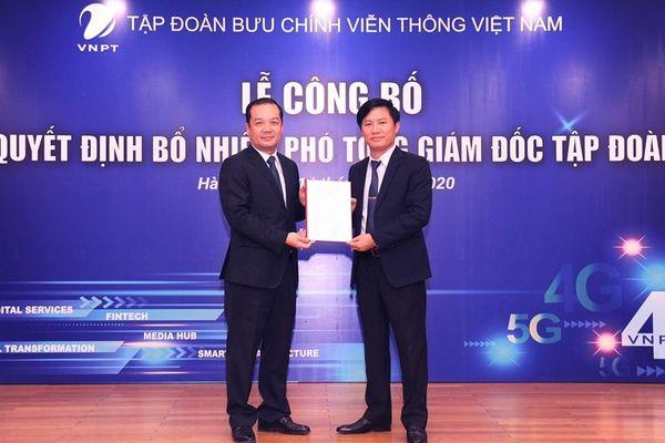 VNPT công bố quyết định bổ nhiệm 2 Phó Tổng giám đốc mới