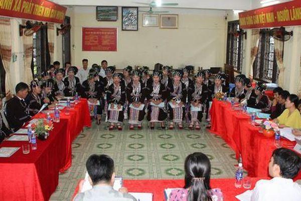 Tập huấn triển khai tổ chức xây dựng Câu lạc bộ văn hóa, văn nghệ dân gian cho các dân tộc thiểu số ít người tại tỉnh Lai Châu