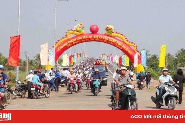 Nhiều định hướng lớn đưa Tân Châu phát triển