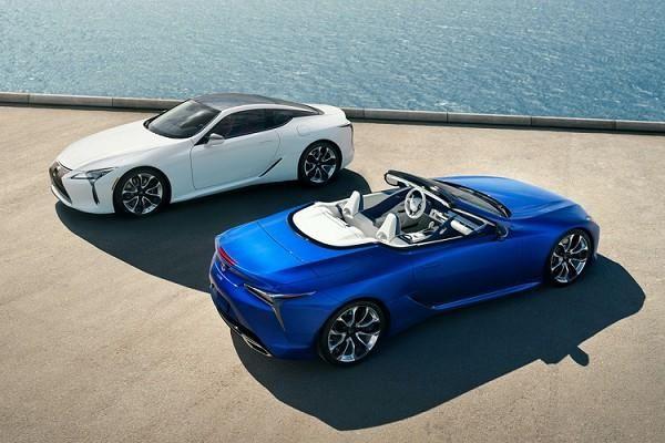 Cận cảnh Lexus LC 500 Convertible 2021 có giá từ 2,3 tỷ