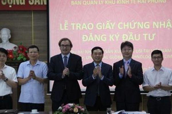 Hải Phòng: KCN DEEP C đón dự án sản xuất thiết bị điện tử 200 triệu USD