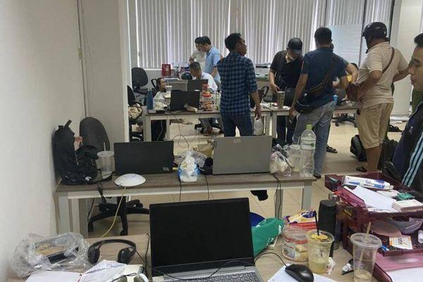 Triệt phá đường dây cho vay nặng lãi qua app do người Trung Quốc điều hành
