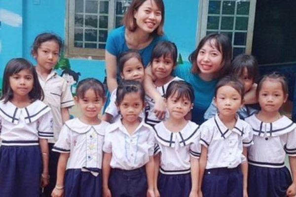 Cô giáo hợp đồng giúp trò thoát nghèo