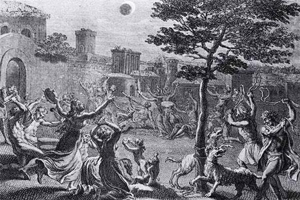 Nhật thực và dấu hiệu của quỷ dữ trong cổ đại