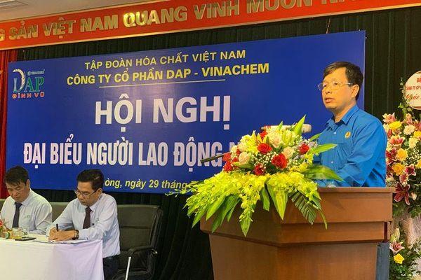 DAP Vinachem: Thưởng 35 sáng kiến làm lợi 3,33 tỉ đồng