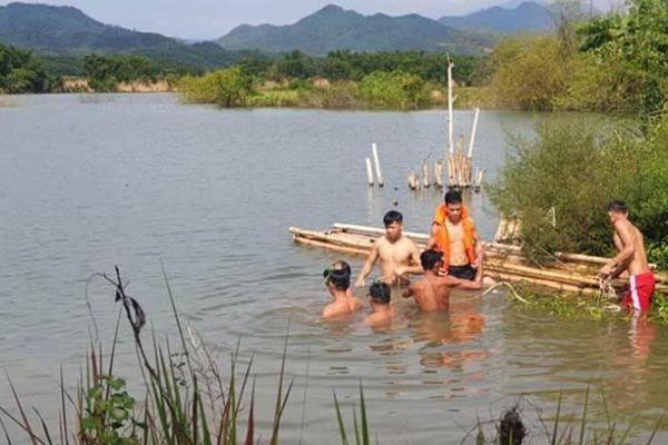 Tìm được thi thể người chết bất thường trên sông Lam