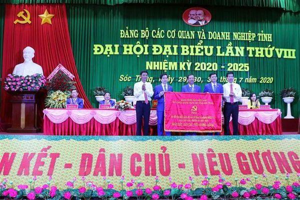 Tỉnh Sóc Trăng hoàn thành Đại hội Đảng bộ cấp trên cơ sở