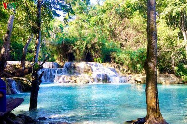 Chiêm ngưỡng vẻ đẹp thác nước trăm tầng của đất nước triệu voi