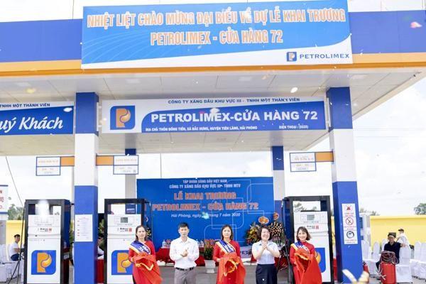 Petrolimex Hải Phòng khai trương Cửa hàng xăng dầu số 72