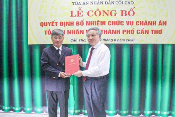 Ông Thái Quang Hải làm Chánh án Tòa án nhân dân TP Cần Thơ