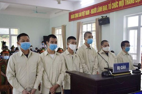 Bản án thích đáng cho 6 kẻ đưa người Trung Quốc nhập cảnh trái phép