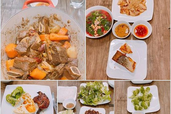 Dương Khắc Linh nấu món ngon bổ dưỡng cho vợ khiến fan 'nể phục'