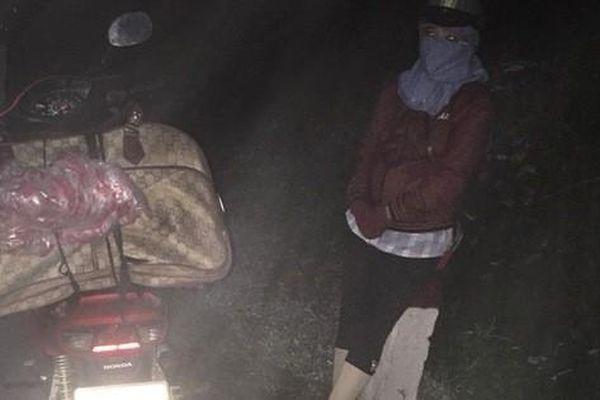 Bắt giữ 2 phụ nữ vận chuyển gần 40kg pháo trái phép