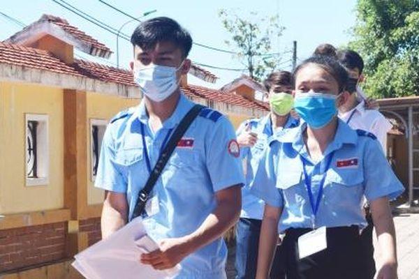 Quảng Bình: 100 thí sinh quốc tịch Lào tham gia dự thi