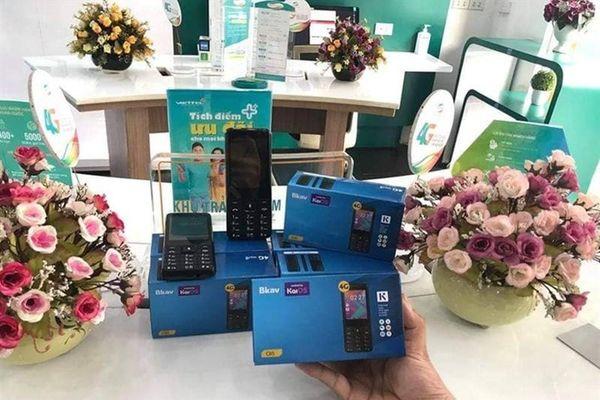 'Chán' B86, BKAV lại sản xuất điện thoại cục gạch 4G giá rẻ