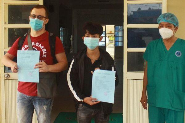 Hai bệnh nhân Covid-19 ở Quảng Ngãi đã khỏi bệnh