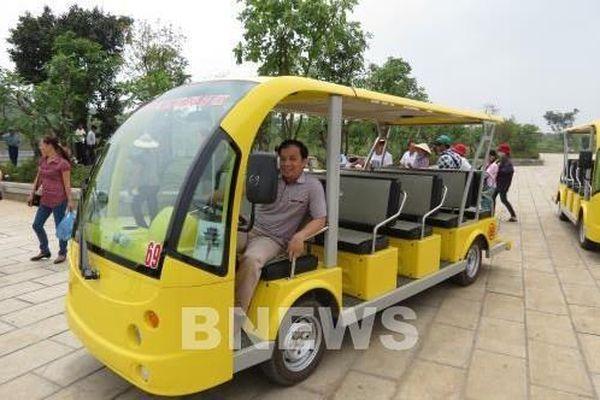 Hà Nội mở rộng khu vực triển khai xe điện 4 bánh vận chuyển khách