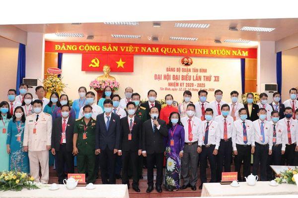 Đồng chí Lê Hoàng Hà tái đắc cử Bí thư Quận ủy Tân Bình