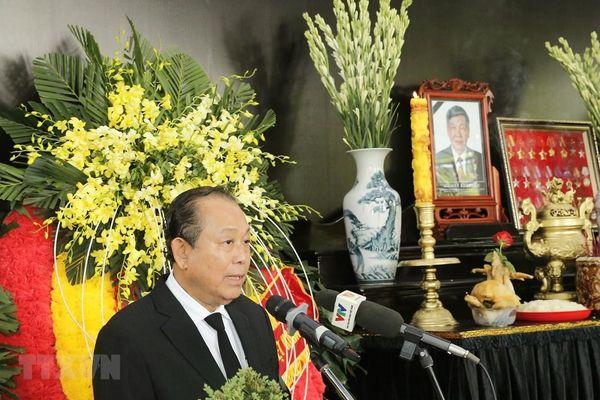Lời cảm ơn của Ban Lễ tang và gia đình nguyên Tổng Bí thư Lê Khả Phiêu