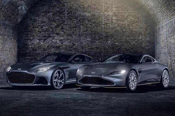 Aston Martin Vantage và DBS Superleggera phiên bản điệp viên 007