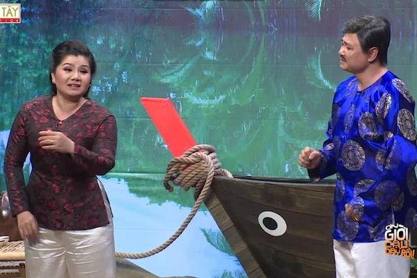 Phát 'sốt' với màn song ca cải lương của NSND Tự Long và NSƯT Tú Sương