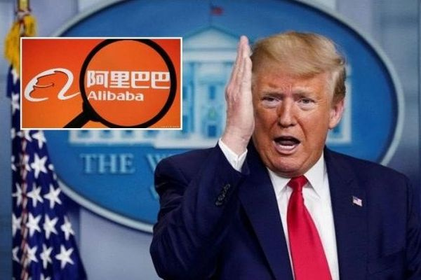 Sau TikTok và WeChat, ông Trump tiếp tục 'chĩa mũi nhọn' vào Alibaba