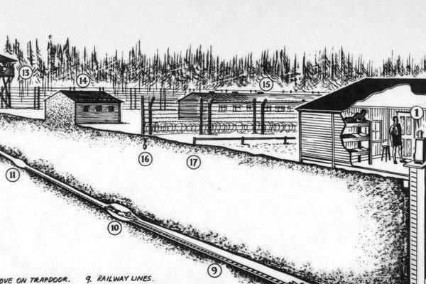 Cuộc vượt ngục chấn động Thế chiến II: Đào hầm dưới cát, dùng tất vận chuyển hơn 100 tấn đổ ra vườn