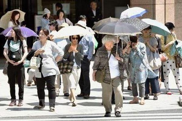 Nắng nóng hoành hành ở Nhật Bản, Mỹ