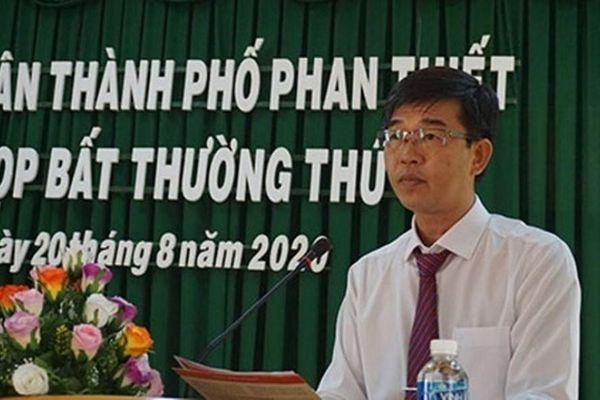 Tân Chủ tịch TP.Phan Thiết 42 tuổi vừa được bầu là ai?