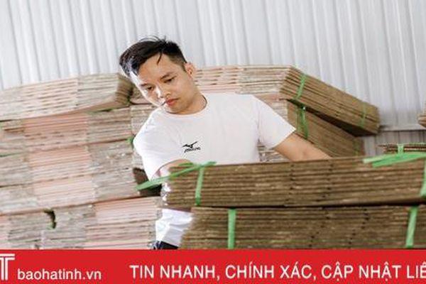 9X Hà Tĩnh với khát vọng mang 'công xưởng' về làng...