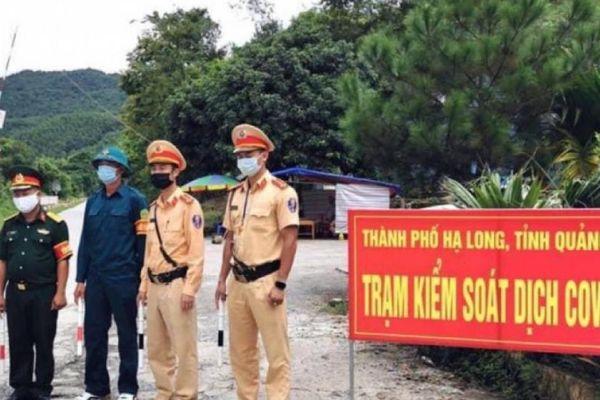 Yêu cầu 5 người từ Bắc Giang vào TP Hạ Long có biểu hiện sốt quay về nhà