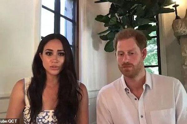 Cùng chồng tham gia cuộc họp, bất ngờ Meghan Markle phát ngôn gây tranh cãi và Harry chỉ ngồi im