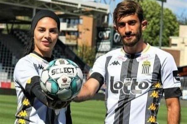 Vợ chồng tuyển thủ Iran cùng thi đấu cho CLB của Bỉ