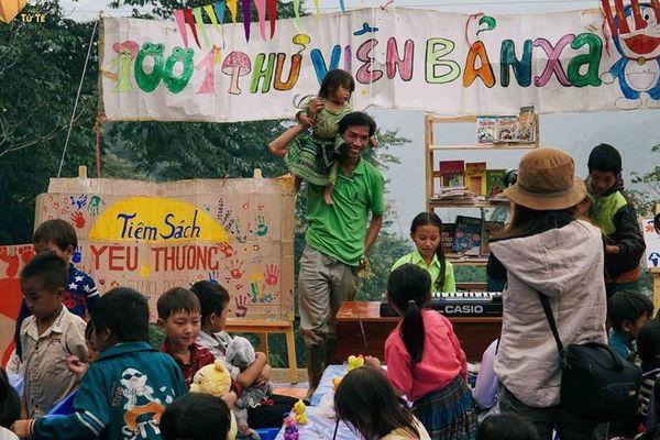Những đứa trẻ nông thôn mong 'lớn lên' từ sách