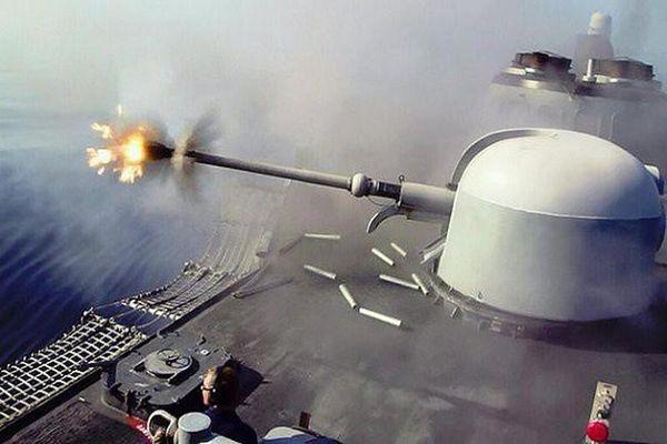 Pháo hạm cực mạnh trên tàu Hamilton Mỹ sắp chuyển giao cho Việt Nam