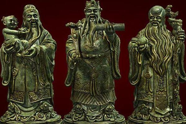 Cách đặt 3 ông Phúc - Lộc - Thọ giúp gia chủ lộc lá đầy nhà